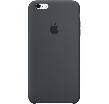 Чехол Silicone Case iPhone 6 Plus/6s Plus темно-серый