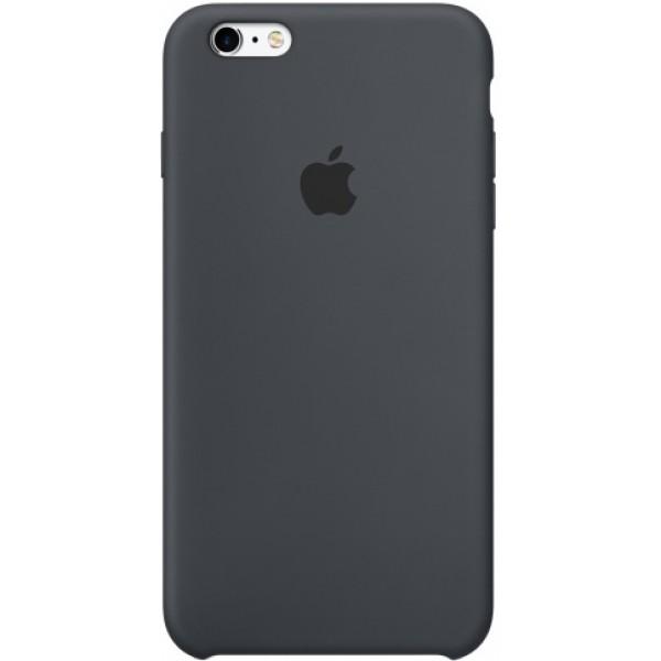 Чехол Silicone Case iPhone 6 Plus/6s Plus темно-серый
