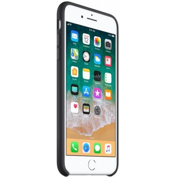 Чехол Silicone Case качество Lux для iPhone 7 Plus/8 Plus черный