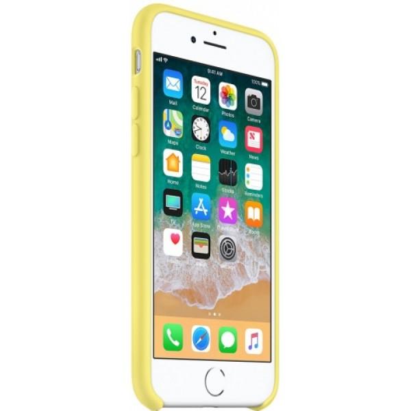 Чехол Silicone Case iPhone 7 Plus/8 Plus желтый