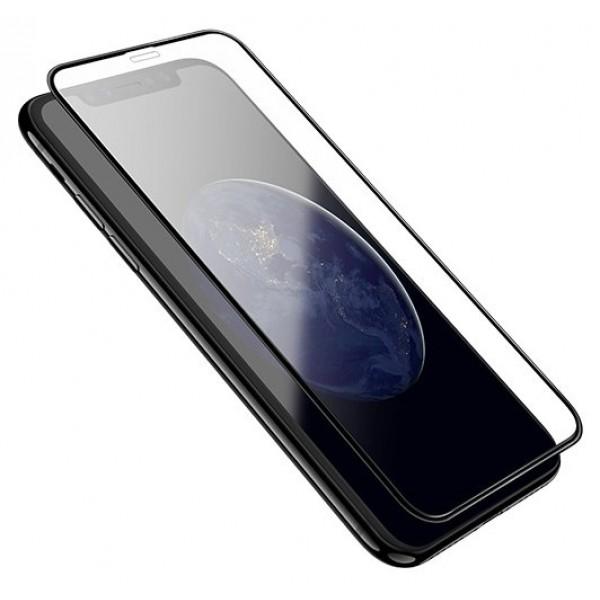 Стекло защитное iPhone Xr/11 (3D) Baseus