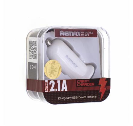 Зарядное устройство в авто REMAX mini на 2 usb