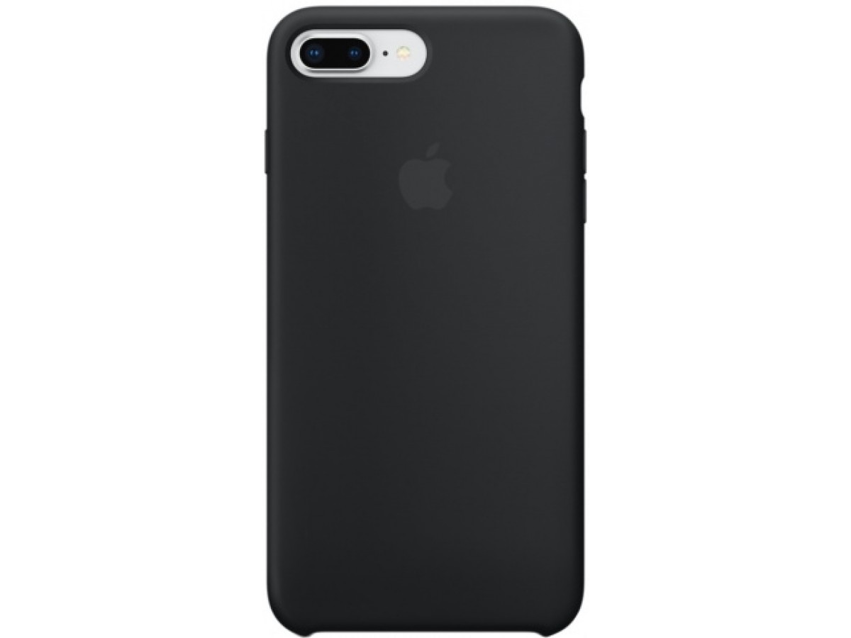 Чехол Silicone Case iPhone 7 Plus/8 Plus черный
