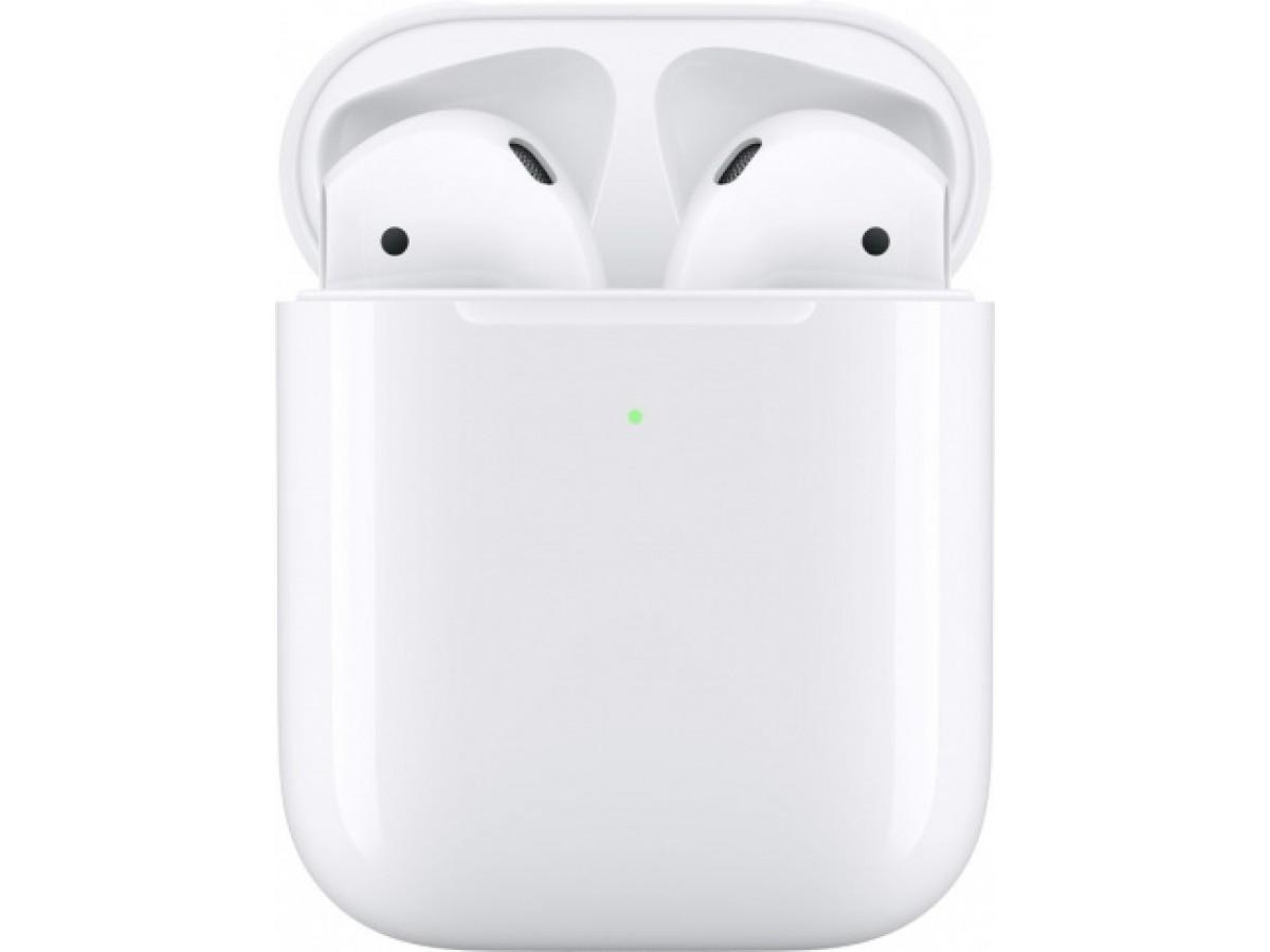 Apple AirPods 2-го поколения с беспроводной зарядкой в Тюмени