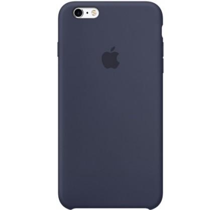 Чехол Silicone Case iPhone 6 Plus/6s Plus темно-синий