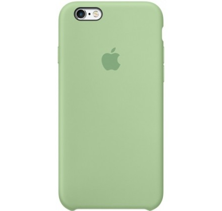 Чехол Silicone Case iPhone 6/6s зеленый