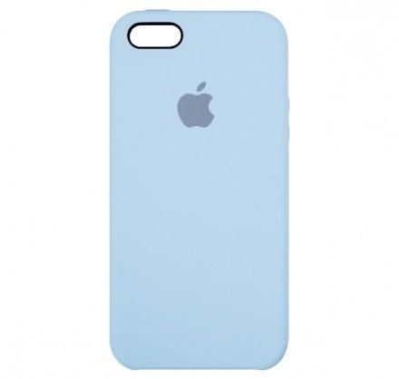Чехол Silicone Case iPhone 5s/SE светло- голубой