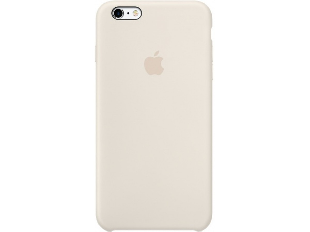 Чехол Silicone Case iPhone 6 Plus/6s Plus бежевый