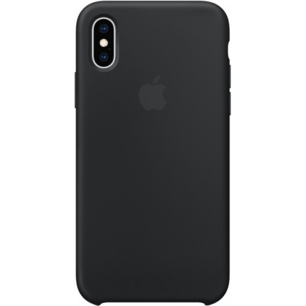 Чехол Silicone Case iPhone X/Xs черный