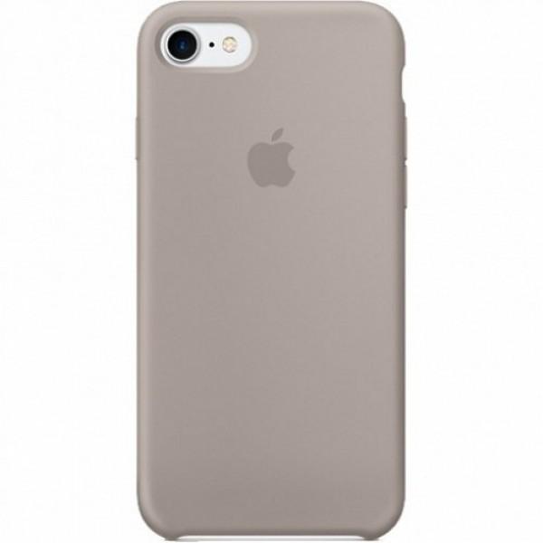 Чехол Silicone Case iPhone 7/8 серый