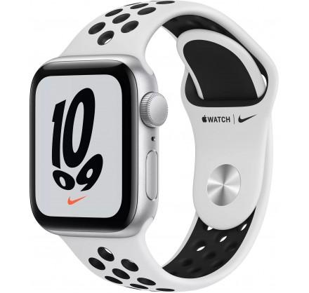 Apple Watch Nike SE, 40 мм, корпус из алюминия серебрис...
