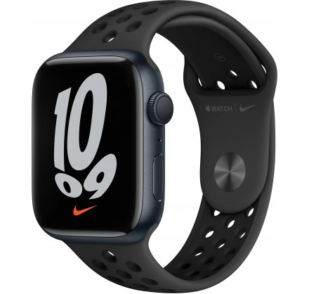 Apple Watch Nike Series 7, 41 мм, корпус из алюминия цв...