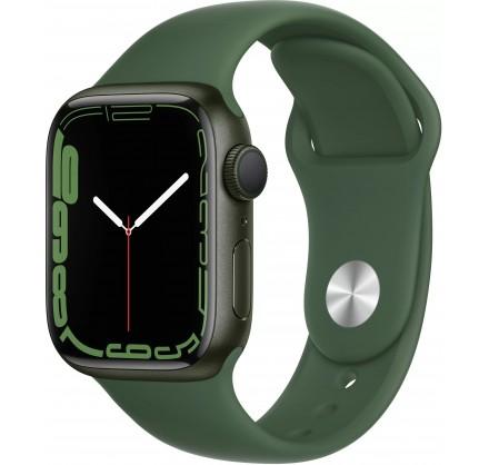 Apple Watch Series 7, 41 мм, корпус из алюминия зелёног...